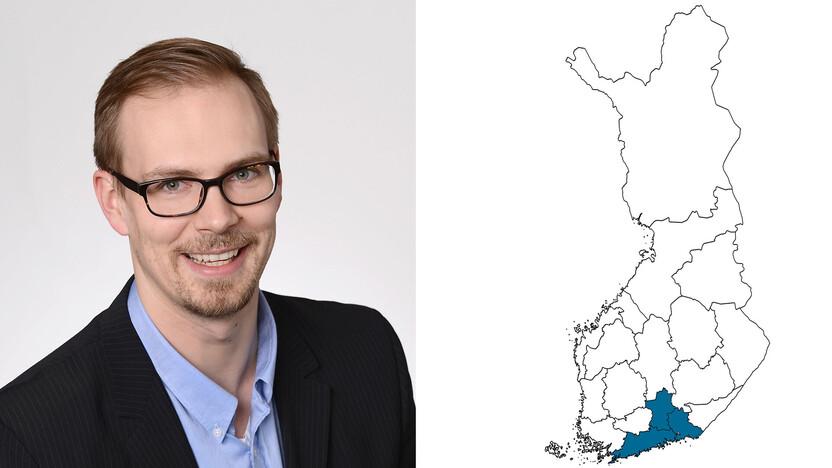 contact person, sales representative, profile and map, Jari Kivistö, Kivisto, rockfon, finland, FI