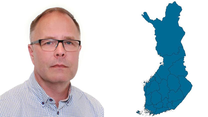contact person, technical service, profile and map, Kalle Vuorinen, rockfon, finland, FI