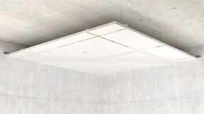 Rockfon System Mono Acoustic, SCAN, E-Mono, Installation illustration
