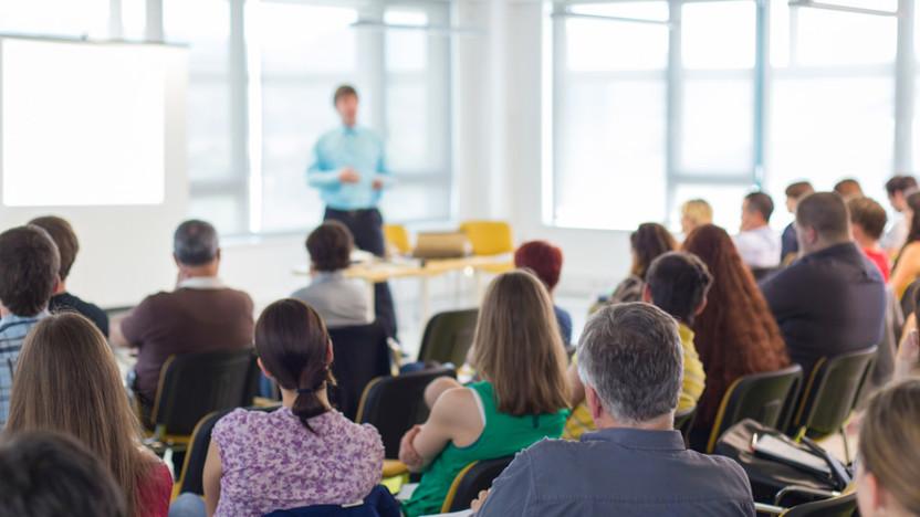 Audience, Speech, Instructor, Course, Talk, People